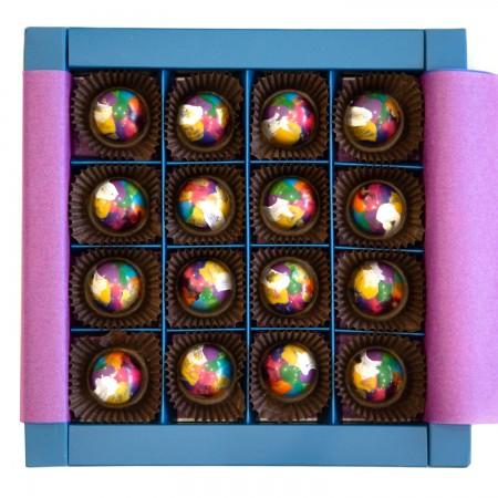 Мармелад в шоколаде 16 шт