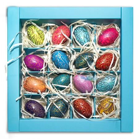 Пасхальные яйца 16 шт.